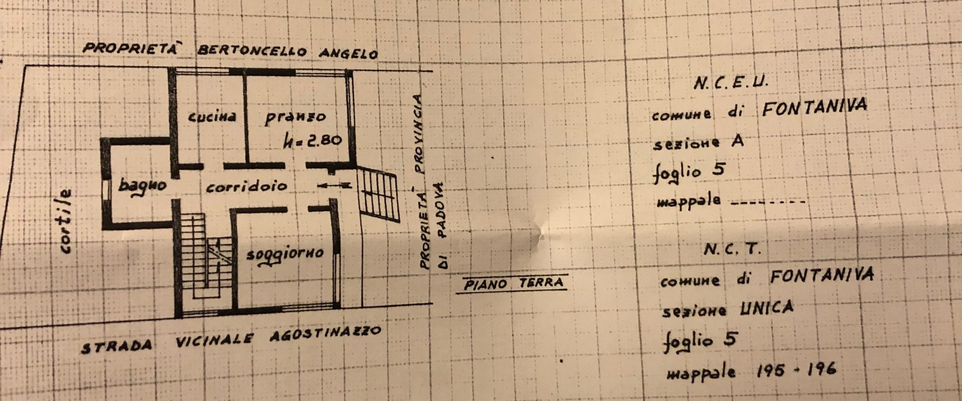 Vendesi casa singola a Fontaniva